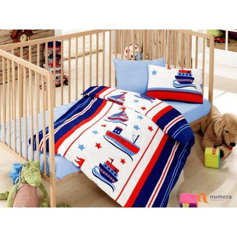 Posteljina za bebe – Denizci Mavi Bebi Program - Online Prodaja - Vadras
