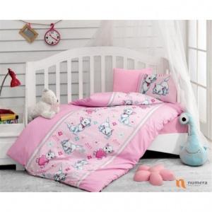 Posteljina za bebe – Miyav Pembe Bebi Program - Online Prodaja - Vadras