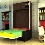 Zidni krevet ZPV2