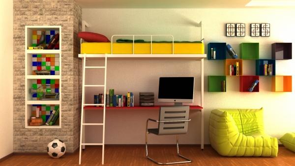 Povišeni krevet Kreveti na sprat - Online Prodaja - Vadras