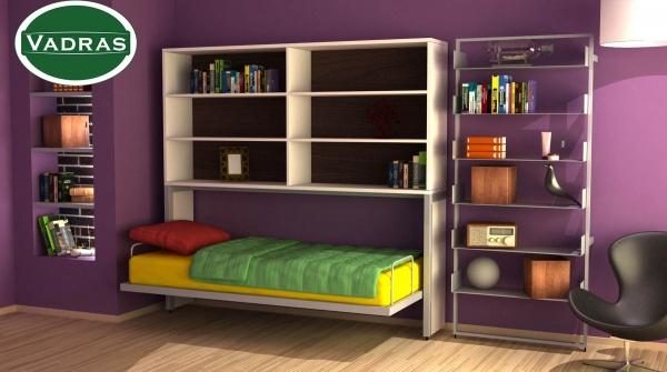 Plakar iznad horizontalnog zidnog kreveta zatvoreni model Plakar iznad horizontalnog zidnog kreveta - Online Prodaja - Vadras