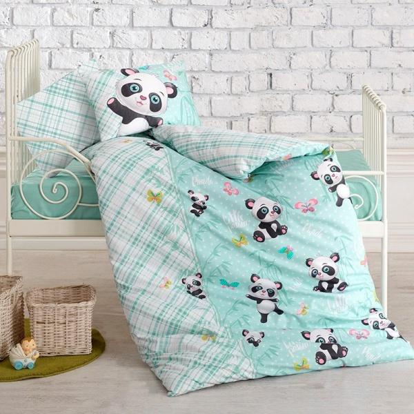 Posteljina za bebe – Panda Mint Bebi Program - Online Prodaja - Vadras